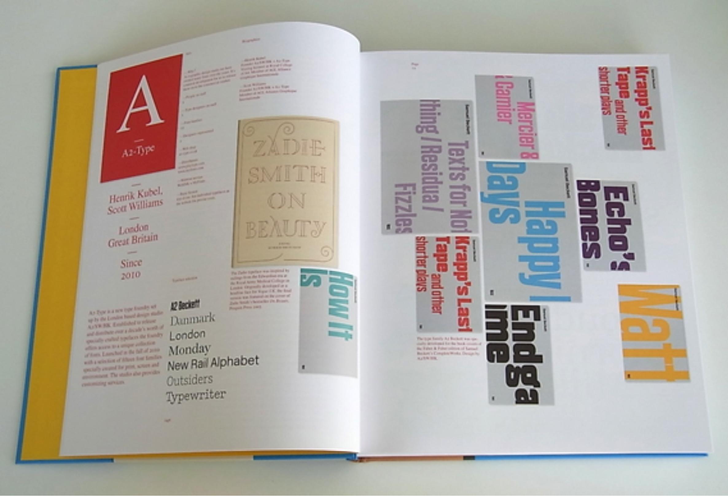 Type Navigator, The Independent Foundries Handbook – BA:VC Canterbury